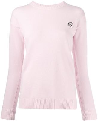 Loewe long sleeved knit top