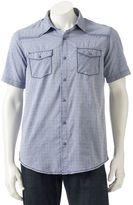 Burnside Men's Patterned Button-Down Shirt