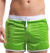SUNVP Men's Athletic Mesh Shorts (, L)
