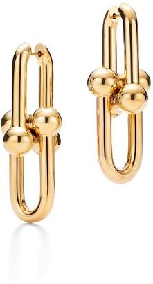 Tiffany & Co. City HardWear link earrings in 18k gold