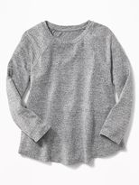 Old Navy Plush-Knit Swing Top for Girls