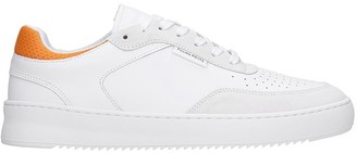 Filling Pieces Spate Ripple Sneakers In White Leather