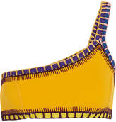 Kiini Ro Crochet-trimmed Bikini Top