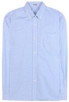 Miu Miu Gingham Cotton Shirt