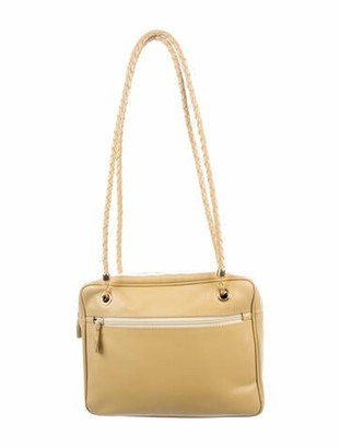 Bottega Veneta Vintage Marco Polo Shoulder Bag Yellow