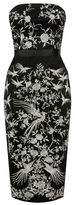 """Oasis OSAKA EMBROIDERED DRESS [span class=""""variation_color_heading""""]- Multi Black[/span]"""