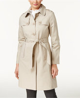 Kate Spade Polka-Dot-Lined Trench Coat