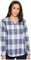 Pendleton Rockaway Cotton Check Shirt Women's Long Sleeve Button Up
