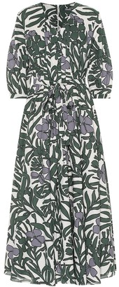 Max Mara S Edita floral cotton dress