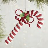 Pier 1 Imports Spiral Glitter Candy Cane Ornament