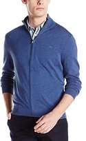 Lacoste Men's Classic Full Zip Cotton Jersey Sweater