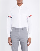 Thom Browne Classic Striped-sleeves Cotton Shirt