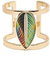 Vince Camuto Leather Leaf Cuff