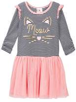 Jenna & Jessie Glittery Meow Tutu Dress (Little Girls)