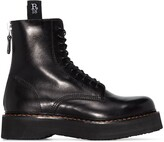 Thumbnail for your product : R 13 Stack 40 military boots