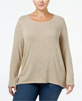 ING Trendy Plus Size High-Low Sweater