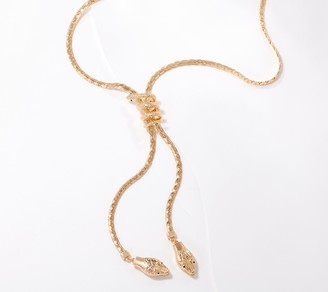 Women With Control Attitudes by Renee Lariat Snake Necklace