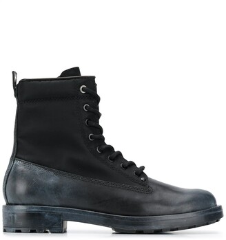 Diesel Two-Tone Cargo Boots