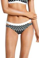Seafolly Optic Wave Split Band Hipster