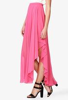 Forever 21 Cascading Chiffon Skirt