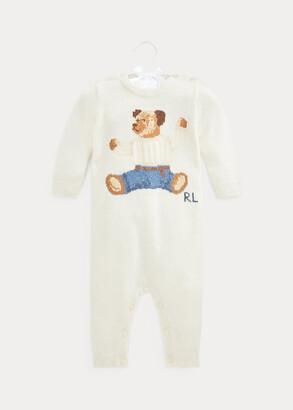 Ralph Lauren Polo Bear Cashmere-Blend Coverall
