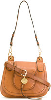 See by Chloe Susie saddle bag - women - Cotton/Calf Leather/Leather - One Size