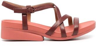 Camper Minikaah cross straps sandals