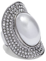 New York & Co. Faux-Pearl Cabochon Ring