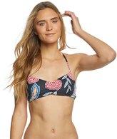 Roxy Softly Love Printed Athletic Triangle Bikini Top 8169718