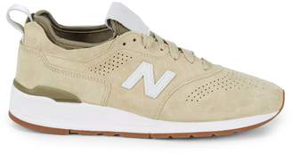 New Balance Lace-Up Platform Sneakers