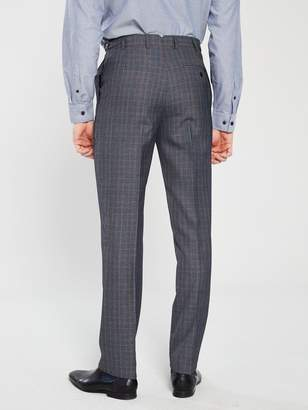 Skopes WarleyCheck Suit Trouser - Grey/Blue