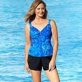 JCPenney Le Cove Underwire Tankini or Swim Shorts