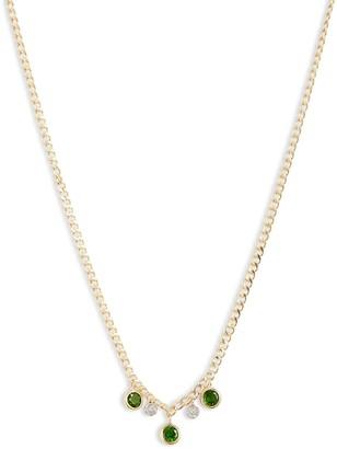Meira T Tourmaline & Diamond Necklace