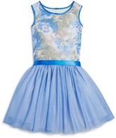 Us Angels Girls' Floral Sequin Dress - Sizes 2T-6