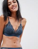 Lindex Ella M Nora eyelash lace triangle bra