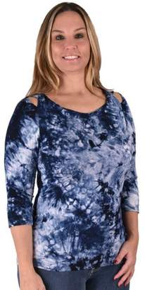 True Blue Tie-Dyed Tunic