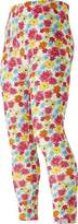 Playshoes Girl's Full Length Floral Print Leggings,(Manufacturer Size:86cm)