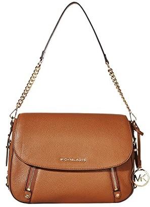 MICHAEL Michael Kors Bedford Legacy Medium Flap Shoulder (Luggage) Shoulder Handbags