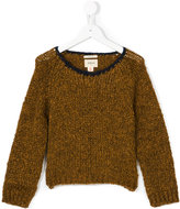 Bellerose Kids contrast neck jumper
