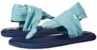Sanuk Yoga Sling 2 Blocked (Mineral Blue) Women's Sandals