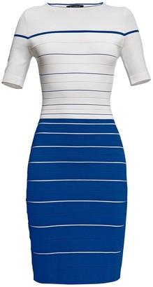 Rumour London Regatta Striped Bodycon Dress