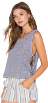 Lanston Side Tie Crop Tank
