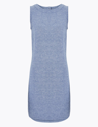 Marks and Spencer Linen Mini Shift Dress