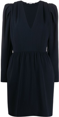 Stella McCartney pleated fitted dress