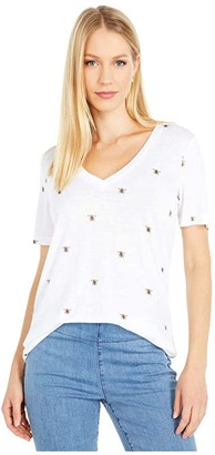 Joules Lola Print (White Bee) Women's Clothing
