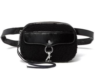 Rebecca Minkoff Blythe Genuine Shearling Belt Bag