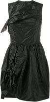 Simone Rocha sleeveless bow mini dress - women - Silk - 6