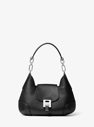 Michael Kors Bancroft Small Calf Leather Shoulder Bag