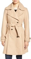 Jessica Simpson Women's Fit & Flare Trench Coat