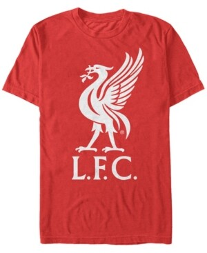 Liverpool Football Club Men's Bird Logo Short Sleeve T-Shirt